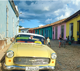 Cotting photo multicolor street