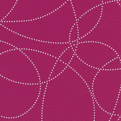 Cotting patch Esprit-Dotty-Cyclamen-B