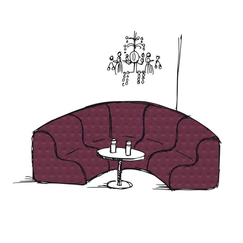 Cotting dessin Lounge Cosy