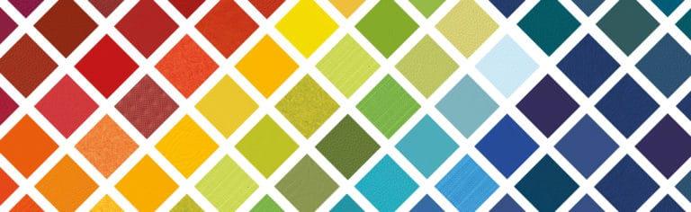 agilité : 20 gammes et 375 couleurs en stock