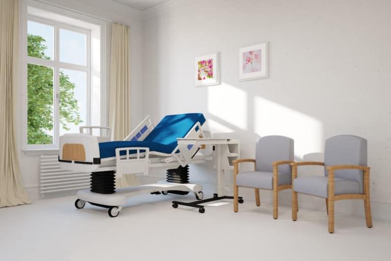 Lit hôpital clinique