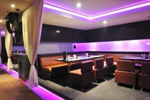 Modern bar restaurant club indoors