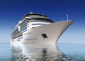 Cotting cruise ship