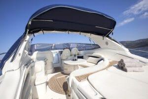 Cotting luxury yacht