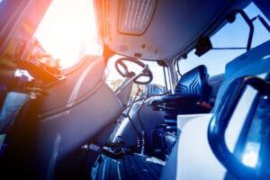 Cotting photo mobilité cabine tracteur